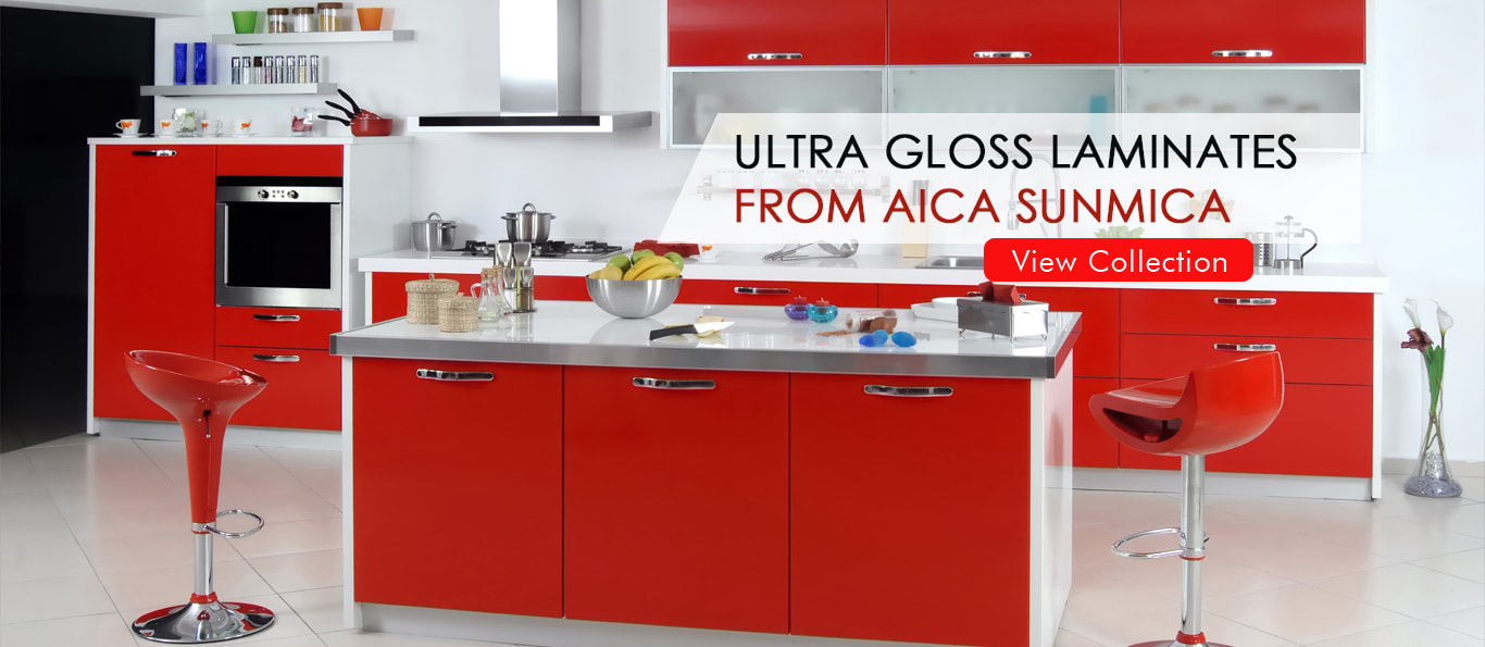 Best Decorative Laminates Company in India – AICA Sunmica